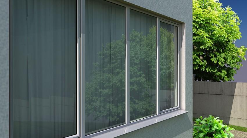 Пластикові вікна для котеджу
