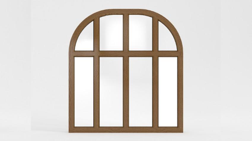 Вікно напіваркове