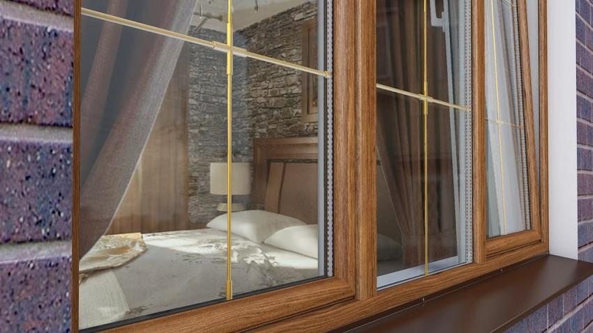 Шпросы - декоративные металлические вставки между стекол