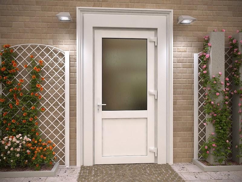 Металлопластиковые двери - фото